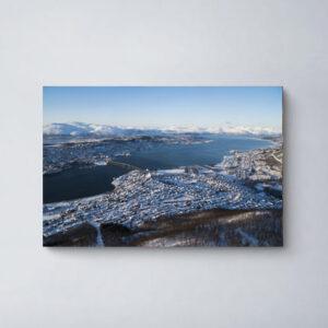 luchtfoto Tromsø
